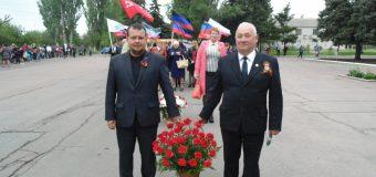 День Победы 9 мая в п.Тельманово