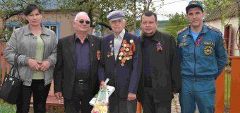 Предпраздничный визит к ветеранам ВОВ