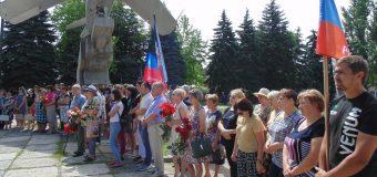 В Тельманово прошел митинг, посвященный Дню памяти и скорби