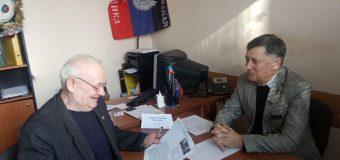 Депутат НС ДНР Владимир Андриенко провел приём граждан