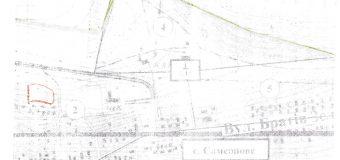 Земельный участок, на который поступило ходатайство (заявление)