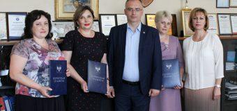 Владимир Бидёвка вручил почётные грамоты Народного Совета работникам социальной сферы Республики