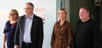 Парламентарии передали спортинвентарь ясиноватской школе-интернату