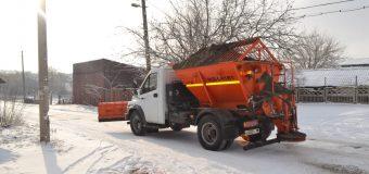 Задействована спецтехника по очистке дорог