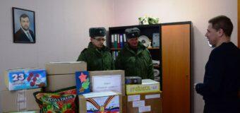 Поздравления и гостинцы для военнослужащих ДНР