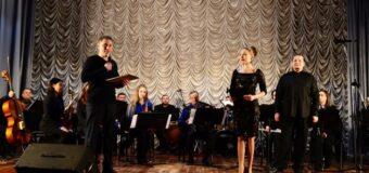 Концерт в районном Доме культуры Заслуженного государственного академического ансамбля песни и танца «Донбасс»