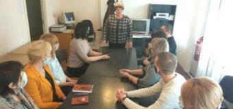 Встреча с работниками районного центра занятости