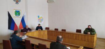 В Тельмановском районе прошла штабная тренировка