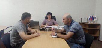 Рабочее совещание с заместителями