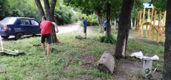 В зоне Мокрая Каранка продолжаются работы по благоустройству