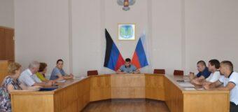 Заседание районного штаба