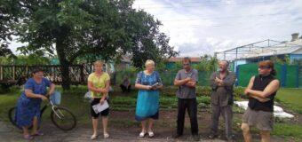 Сход граждан в с.Дерсово
