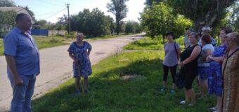 Сход граждан в с.Луково