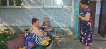 Сход граждан в пгт Тельманово