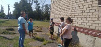 Сход граждан в селе Луково