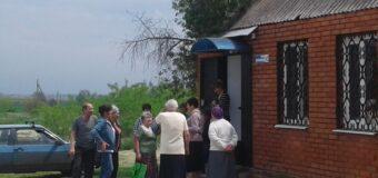 Сход граждан в селе Розовка
