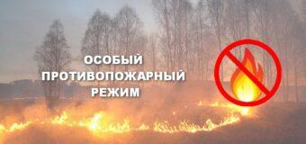 Пожарная безопасность в период особого противопожарного режима