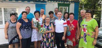 Жительницу района поздравили с 85-ти летием