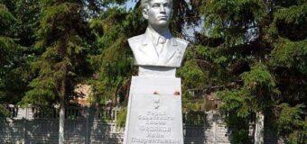 Героически погиб в боях за освобождение села Старая Ласпа