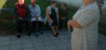 Сход граждан в селе Запорожец