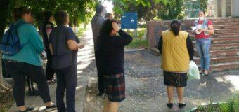 Сход граждан в поселке Тельманово