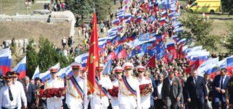 """На Мемориальном комплексе """"Саур-Могила"""" состоялись торжества, посвященные 78-й годовщине освобождения Донбасса"""