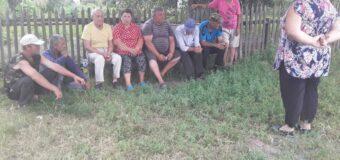 Сход граждан в селе Кузнецово-Михайловка
