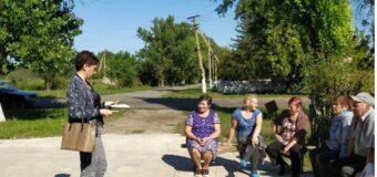 Сход граждан в селе Таврическое