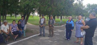 Сход граждан в селе Коньково