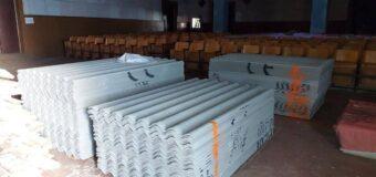 Доставлены строительные материалы в Староласпинский СДК для ремонта кровли